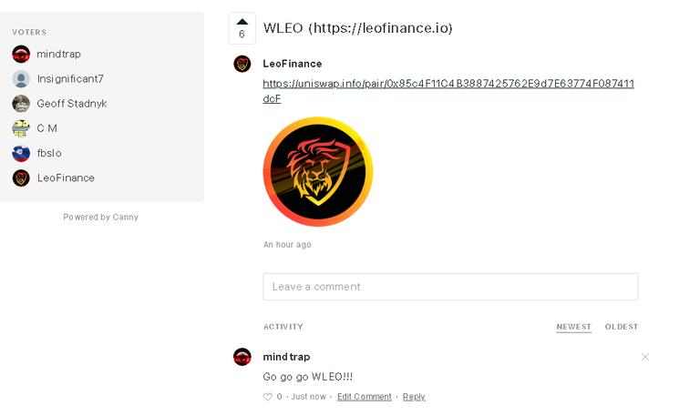 20200924 22_01_49WLEO https___leofinance.io _ Voters _ Blockfolio.png