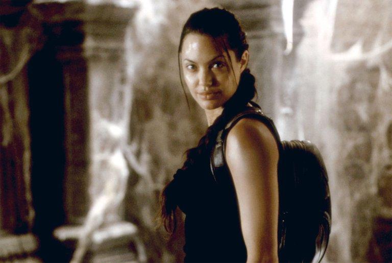 Angelina Jolie as the Tomb Raider Lara Croft.jpeg