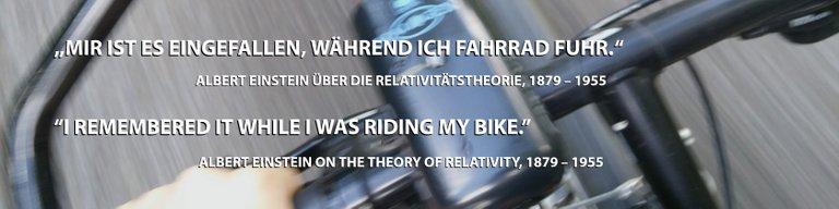 Banner Einstein fährt Fahrrad.jpg
