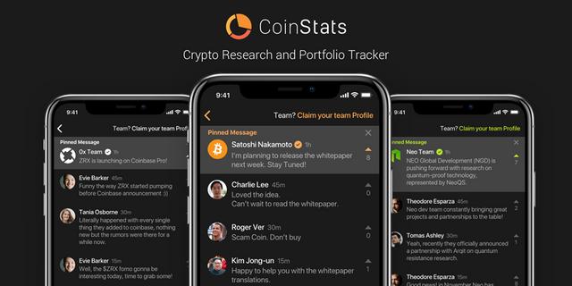 coinstats portfolio tracker update
