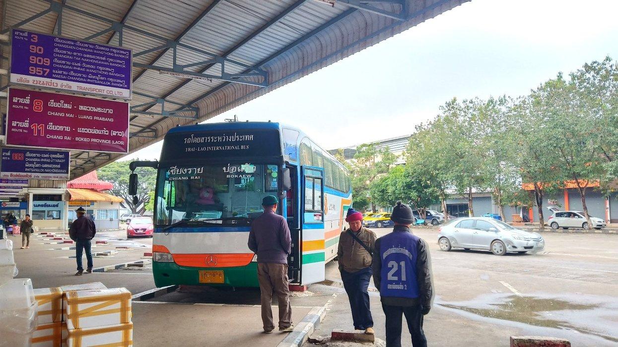 Chiang Rai to Chang Khong bus terminal