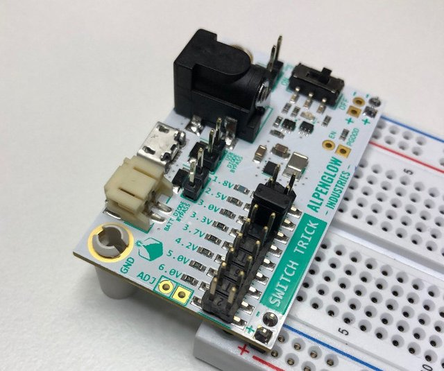 SwitchTrick Breadboard Power Supply