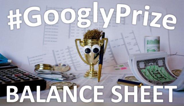 GooglyPrize Balance Sheet Title Image