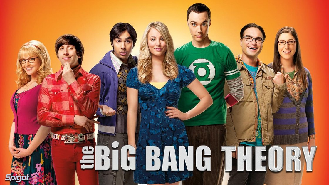 12 seasons of Big Bang Theory Hive 2