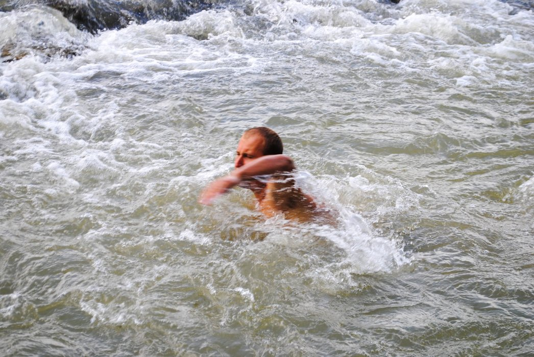 My fight against a strong current