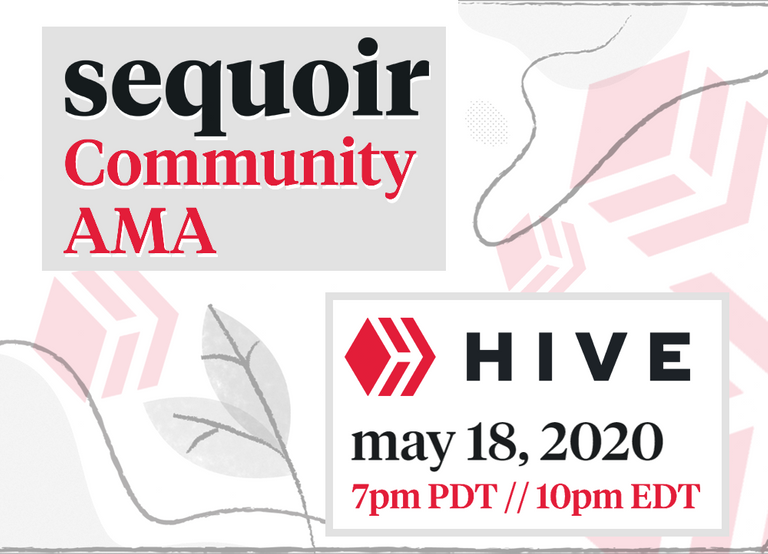 Join in, Hive community! Sequoir live AMA featuring your questions