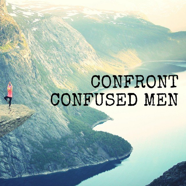 Confront confused men - courtesy Inspirobot.me