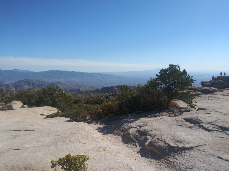 Looking out from Windy Peak, Coronado National Forest, USA