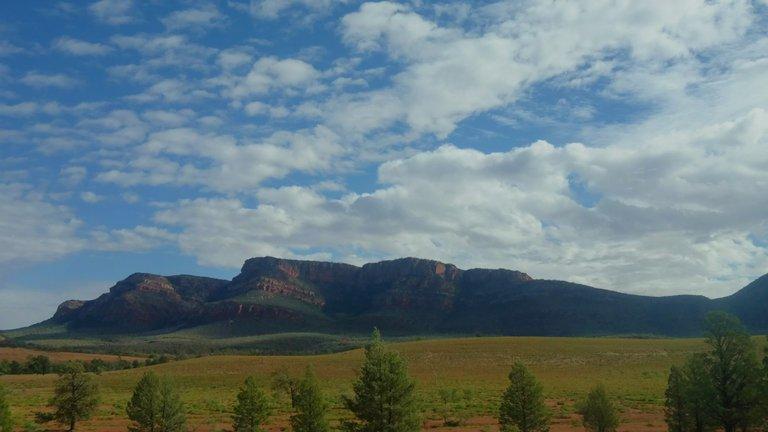 Rock Formation near Hawker, South Australia