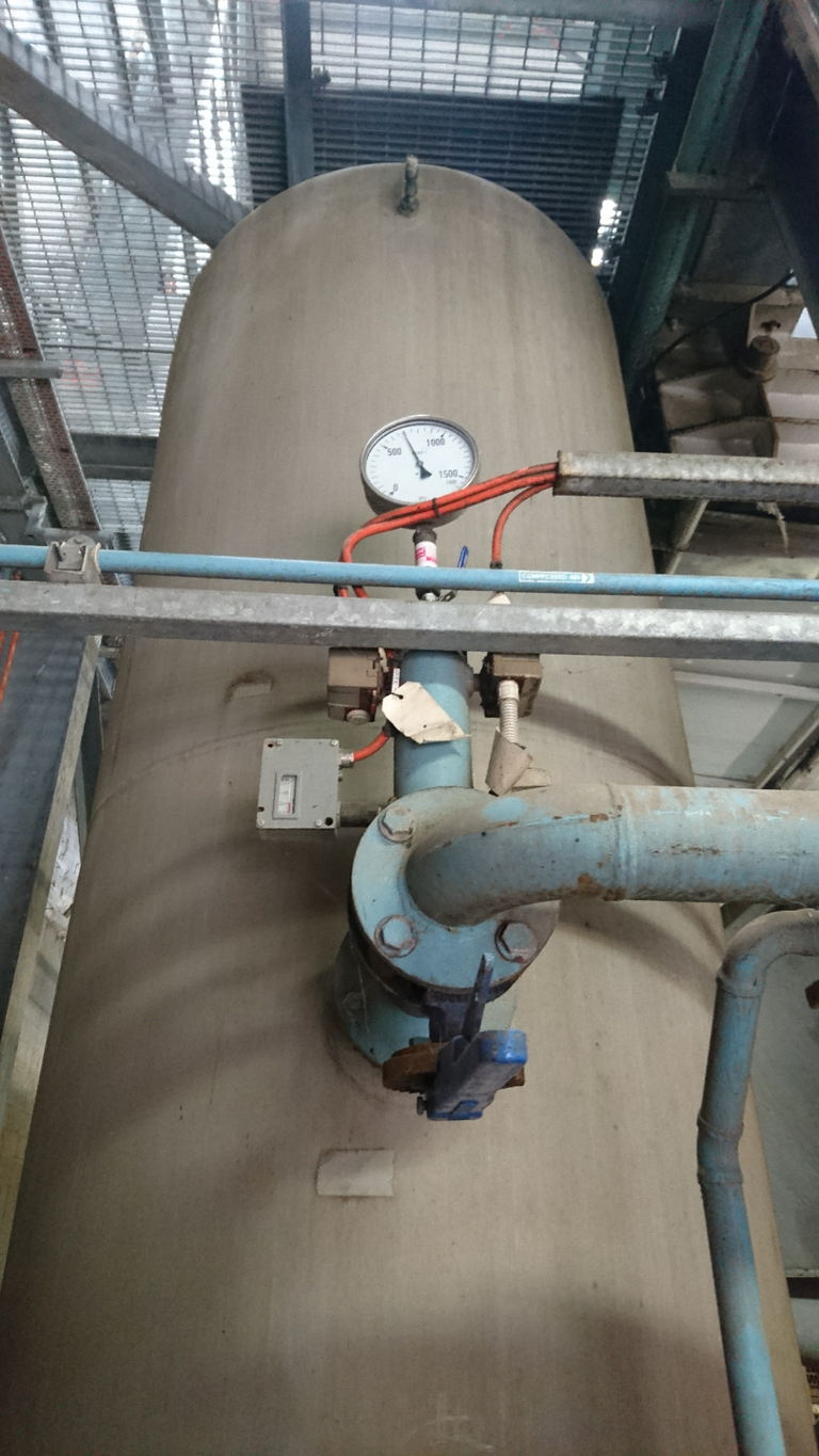 Air Receiver - Core Blow - Water Treatment Plant