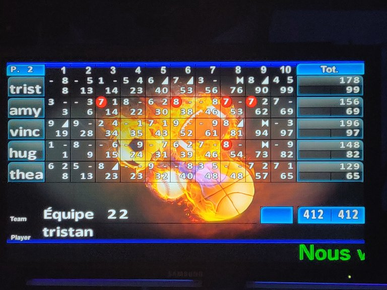 second game