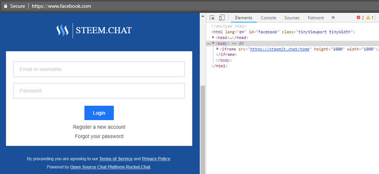 steemit chat - iframe login.png