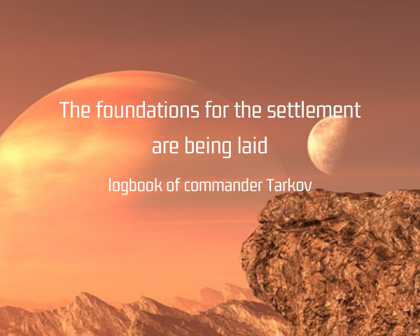 The foundations for the settlement are being laid.png