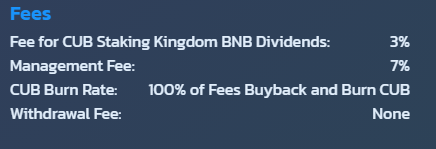 Fees cub finance for BSC token.PNG