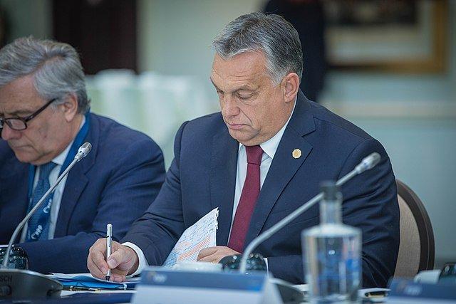 Viktor Orban, prime minister of Hungary (source: Wikimedia Commons)