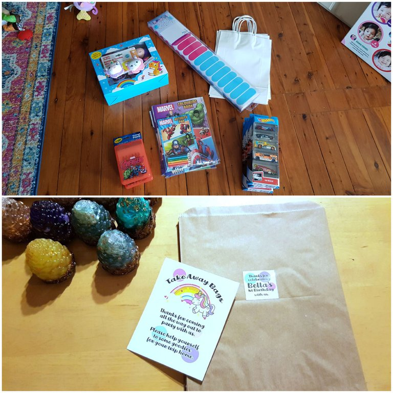 Gift bags and bonboniers....