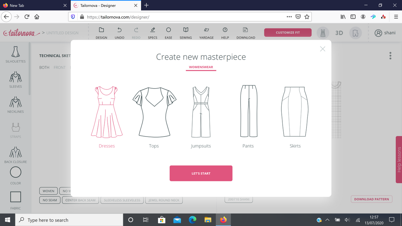 Tailornova Design Customised Patterns Coupon Contest Review Peakd