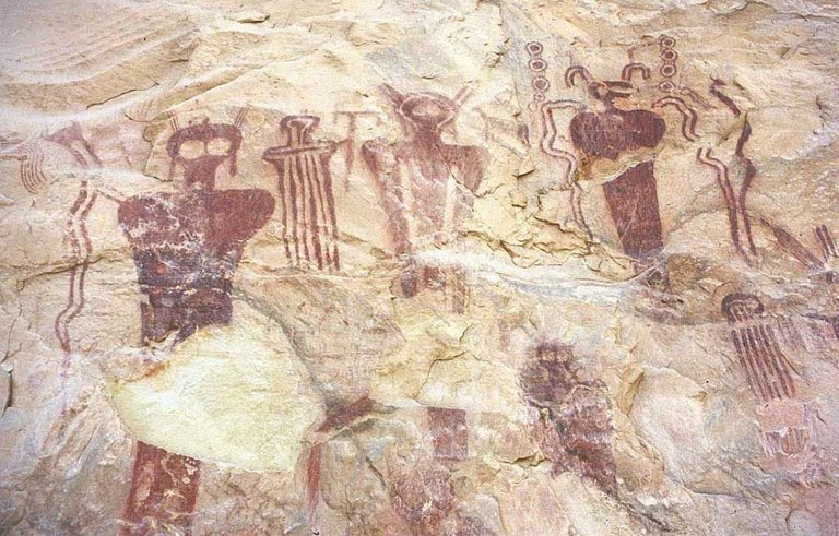 Hopi Indians have rich alien mythology, straight forward, calling them man from the stars