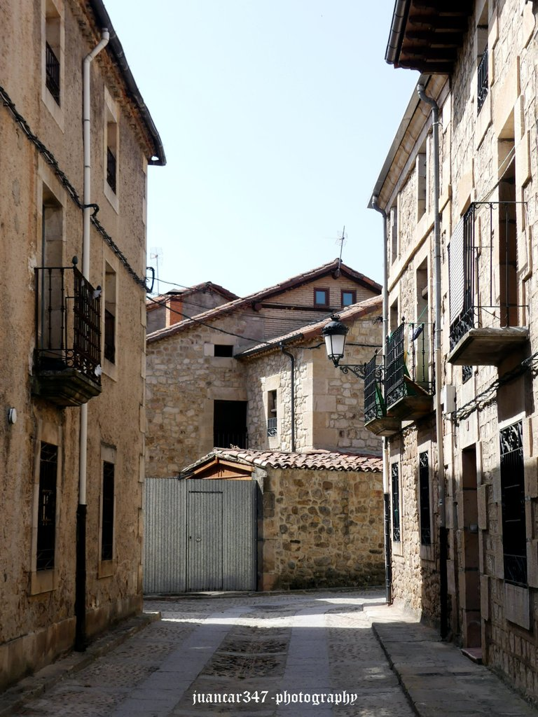 Old streets full of history