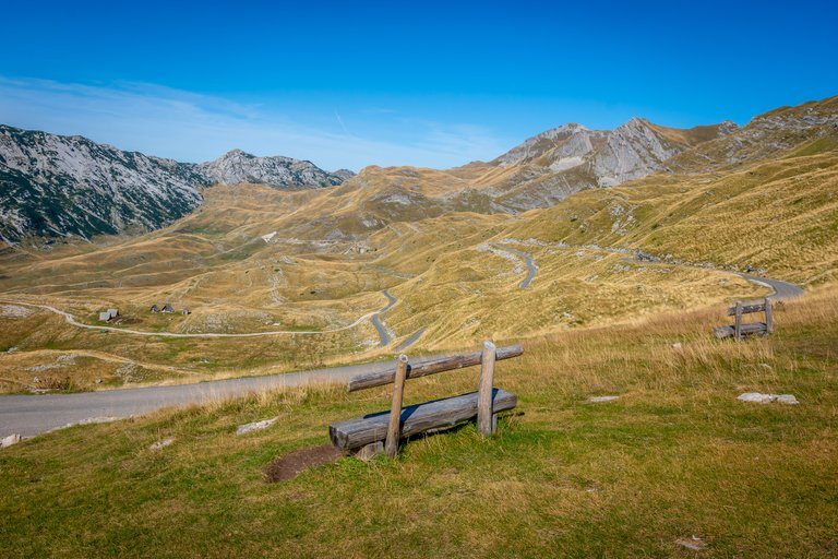 Road in Durmitor National Park
