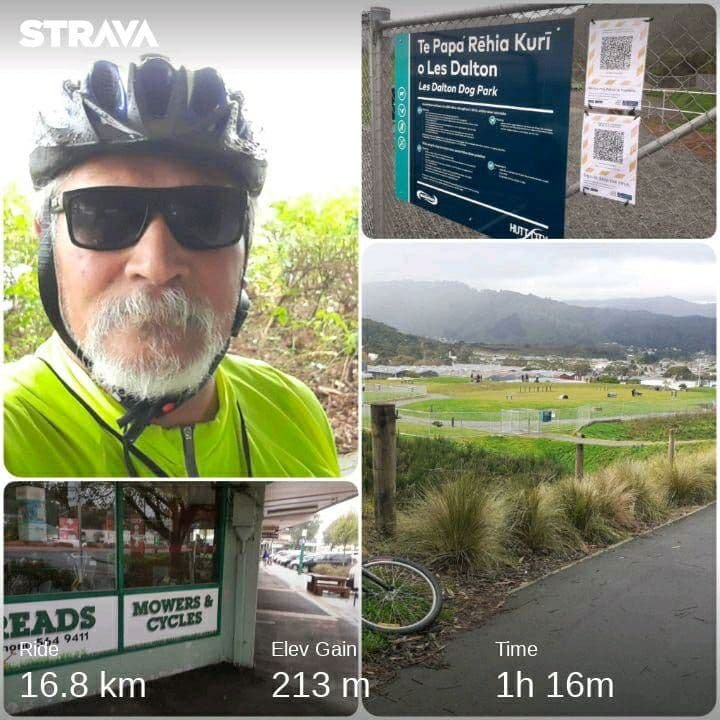 New Dog Park, Wainui has it's own Cycle Shop