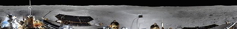 First Panorama of the Far Side of the Moon