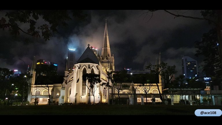 St Andrew Cathedral on Halloween Night@ace108