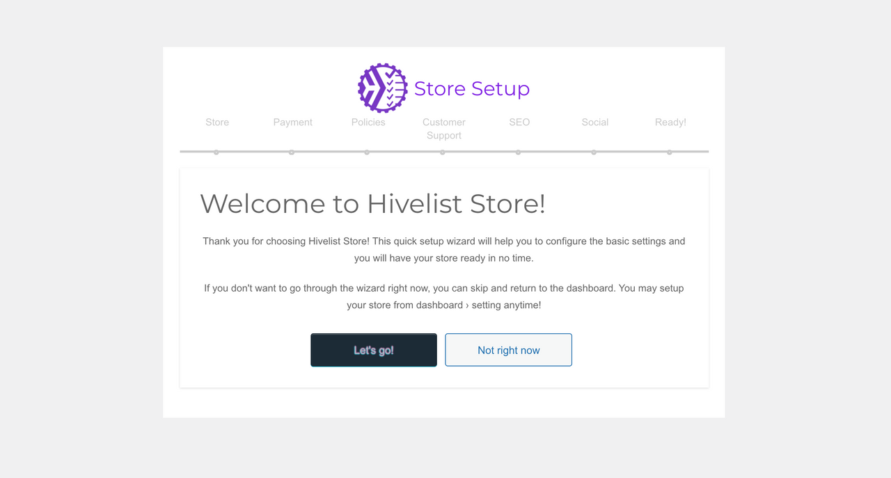 How To Start Your Hivelist Store- Part 2: Store Setup