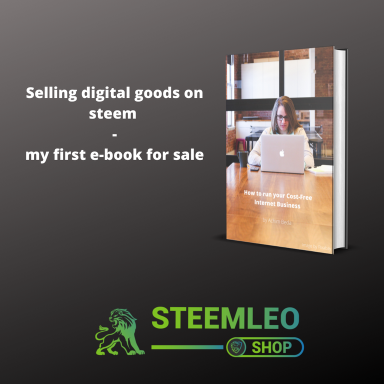 Selling digital goods on steem my first ebook for sale.png