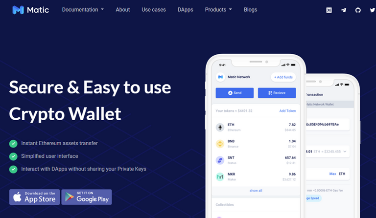 Matic wallet