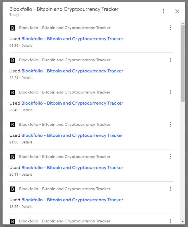My Blockfolio launches today