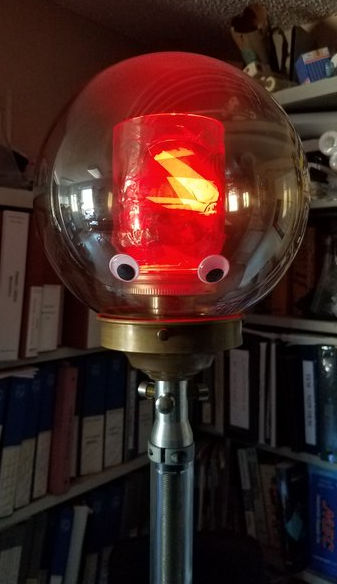 Crazy Googly Bulb by @roguescientist84