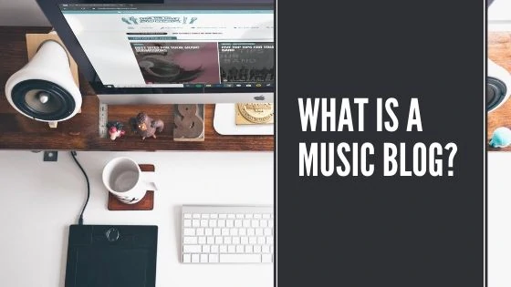 What is a music blog