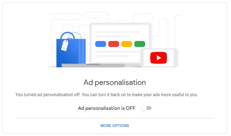 Ad personalisation