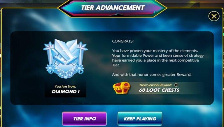 Diamond I League Reached.jpg