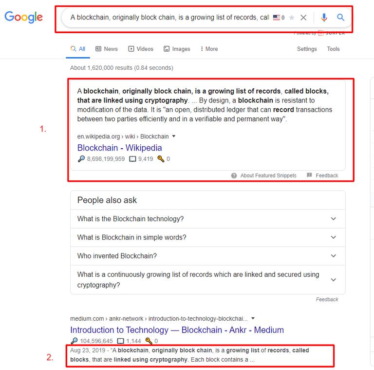 example of plagiarism
