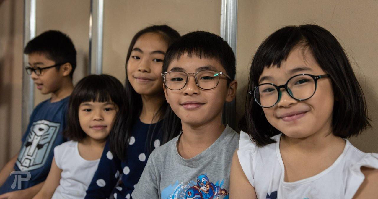 These kids were left by their parents and the food bank community helps the grandparents to raise them