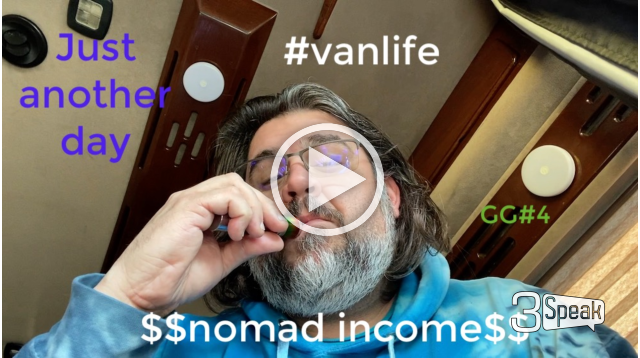 Another Day in Vanlife hitting some Gorilla Glue, Delivery Driver Gigs and more!