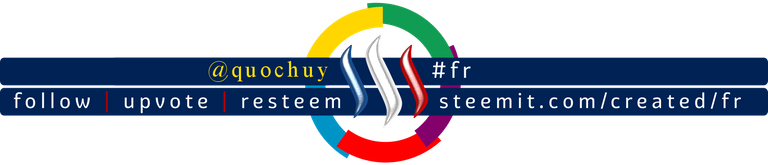 Steemit French community banner