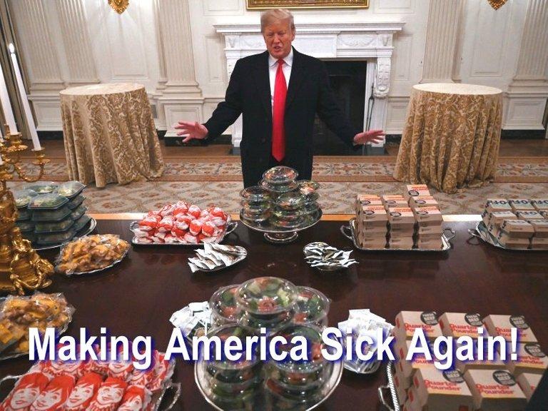 trumps making america sick