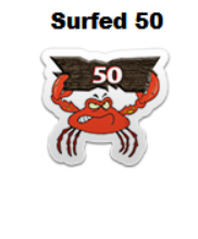 SeaLifeHitsSurfed50CrabBadge.png