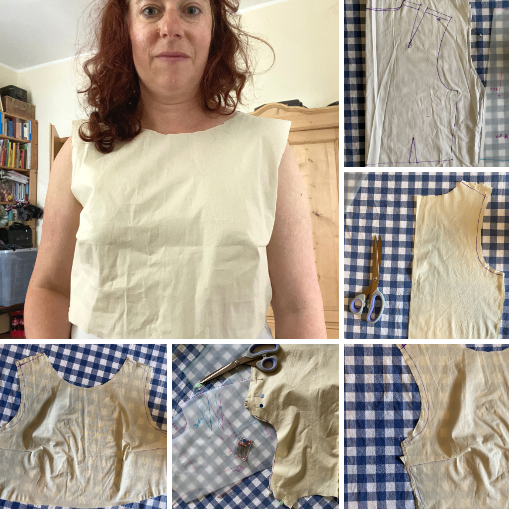 various photos of a failed dress body