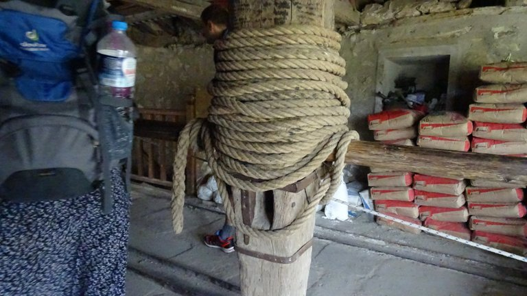 The rope to get it up