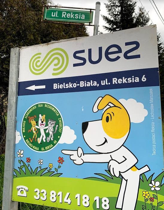 Ulica Reksia w Bielsku-Białej
