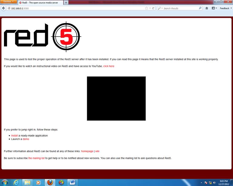 Gambar 3.8 Tampilan pengaksesan server dari PC pribadi.png