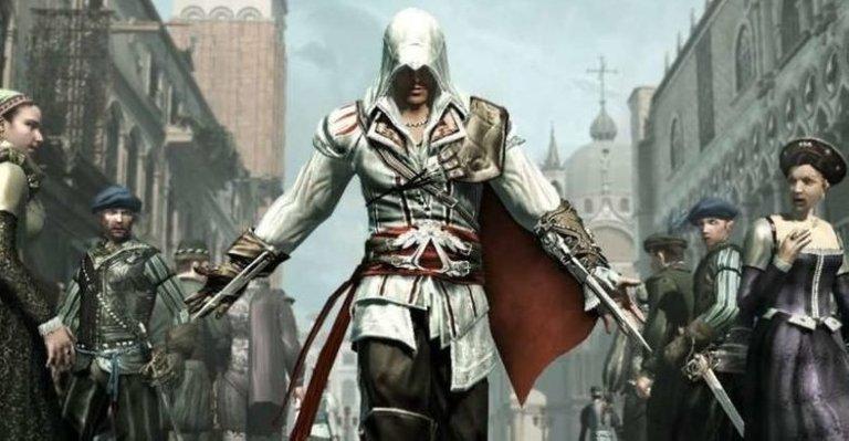 Ezio walking 2