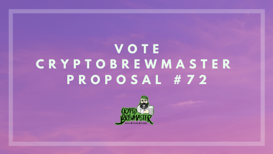 vote cryptobrewmaster proposal 72.png