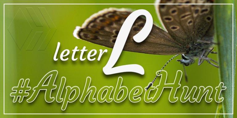 Hive AlphabetHunt - Letter L