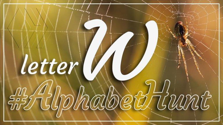 Hive AlphabetHunt - Letter W