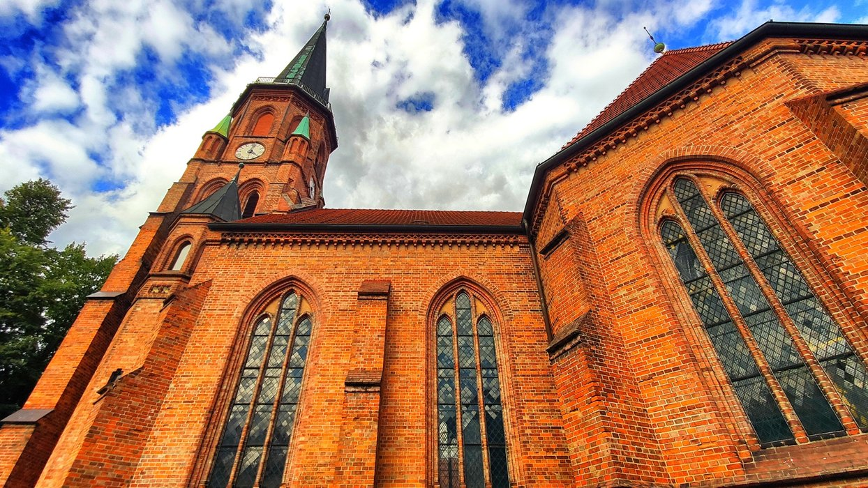 The church of Dömitz.